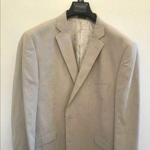 NEW 46R Madison Cotton Sport Coat Cream [Ivory]